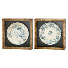 Antique Plate Soft Design Frame Art