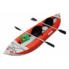 Self-Bailing Inflatable Kayak