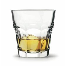 Rocks 6 Piece Hardened Whisky Glass Set