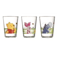 Winnie the Pooh 3 Piece Tumbler Set
