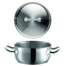 Professional I Stainless Steel Casserole with Lid