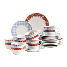 Elena 18 Piece Coffee Set