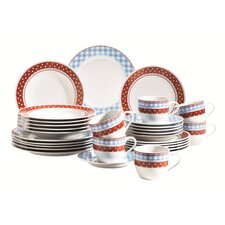 Elena 30 Piece Dinnerware Set