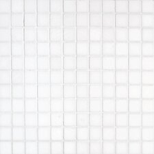 "<strong>Epoch Architectural Surfaces</strong> Thassos 12"" x 12"" Polished / Tumbled Marble Mosaic in White"