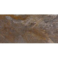 "<strong>Epoch Architectural Surfaces</strong> 24"" x 12"" Glazed Porcelain Field Tile in Rustic"