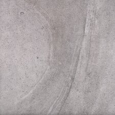 "18"" x 18"" Porcelain Field Tile in Silver Sandstone"