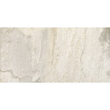 "<strong>Epoch Architectural Surfaces</strong> 24"" x 12"" Porcelain Field Tile in White Slate"