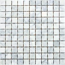 "<strong>Epoch Architectural Surfaces</strong> 12"" x 12"" Polished / Honed / Tumbled Marble Mosaic in Italian Venatino"