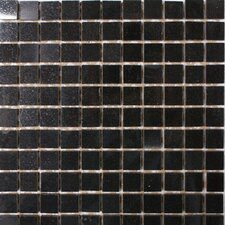 "<strong>Epoch Architectural Surfaces</strong> 12"" x 12"" Polished Granite Mosaic in Absolute Black"
