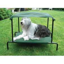 Breezy Bed™ Outdoor Dog Bed in Green