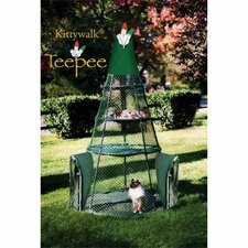 "<strong>Kittywalk Systems</strong> 72"" Teepee Cat Tree"