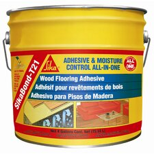 <strong>Sika</strong> Sikabond-T21 All-in-One Polyurethane Adhesive for Wood Floors - 4 Gallons