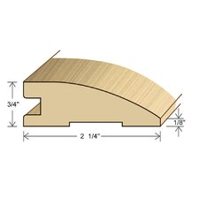 "0.75"" x 2.26"" Solid Hardwood Kempas Reducer in Unfinished"