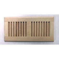 "5-5/8"" x 13-1/2"" Maple Surface Mount Wood Vent"