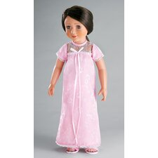 "Polka Dress for 18"" Slim Dolls"