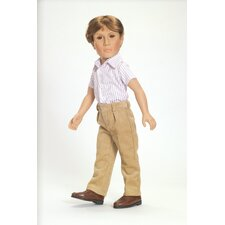 "Casual Comfort Outfit for 18"" Slim Boy Dolls"