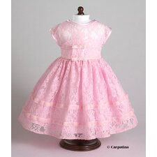 American Girl Dolls Vintage Pink Party Dress
