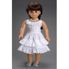 <strong>Carpatina</strong> American Girl Dolls Fleur Blanc Dress