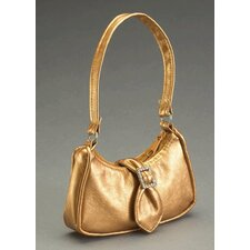 Carpatina and American Girl Dolls Metallic Bronze Shoulder Bag