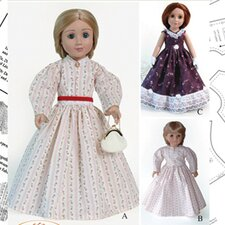 <strong>Carpatina</strong> Clothes Pattern Doll Civil War Period