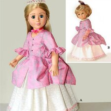 <strong>Carpatina</strong> Clothes Pattern Doll Polonaise Dress
