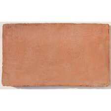 "Terra Cotta 6"" x 12"" Rectangulo Tile in Brown"