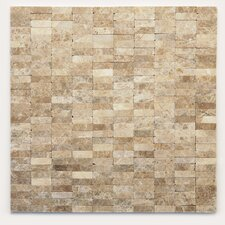 Post Modern Marble Unpolished Mosaic in Degas