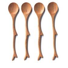 Teak Twig Spoon (Set of 4)