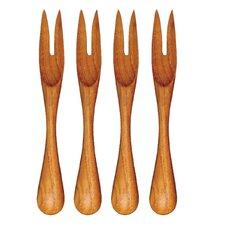 Teak Mini Fork (Set of 3)
