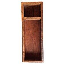 Reclaimed Wood Flatware Tray