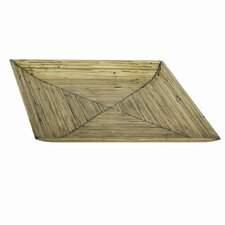 Square Bamboo Serving Platter