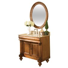 "Guild Hall 36"" Distressed Bathroom Vanity Base"