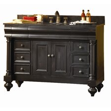 "<strong>Kaco International</strong> Guild Hall 48"" Distressed Bathroom Vanity Base"