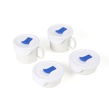 <strong>Corningware</strong> French White 8 Piece Pop-Ins Bake and Serve Set