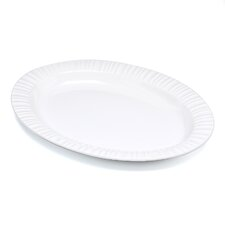 French White Oval Platter
