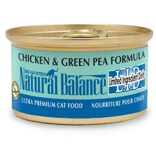 Limited Ingredient Diets Chicken and Green Pea Canned Cat Food