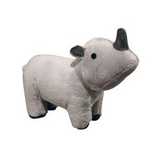 <strong>Tuffy's Pet Foods</strong> VIP Mighty Junior Safari Rhino Dog Toy