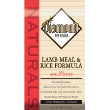 Natural Lamb Meal and Rice Dry Dog Food