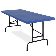 6' Blow Molded Folding Table
