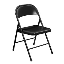 Commercialine All Steel Folding Chair (Set of 4)