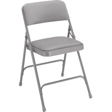 1200 Series Vinyl Upholstered Folding Chair (Set of 4)