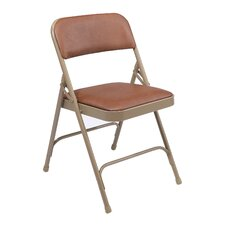 <strong>National Public Seating</strong> 1200 Series Vinyl Upholstered Folding Chair