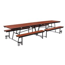Mobile Cafeteria Bench-Table