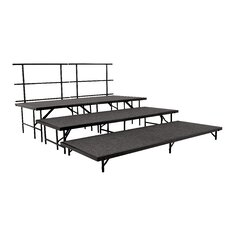 Portable Stage & Seated Riser Set in Hardboard