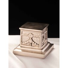 Roman Urn in Brushed Nickel