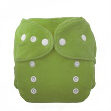 Duo Fab Fitted Diaper Snap in Meadow
