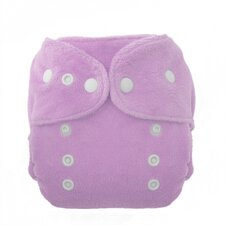 Duo Fab Fitted Diaper Snap in Orchid