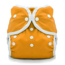 Duo Wrap Snap Diaper in Mango
