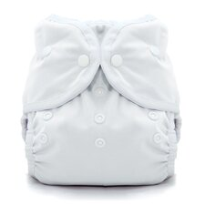 <strong>Thirsties,INC</strong> Duo Wrap Snap Diaper in White