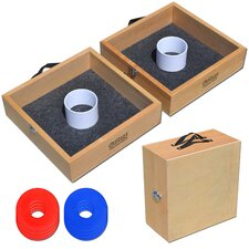 Premium Birch Wood Washer Toss Game Set